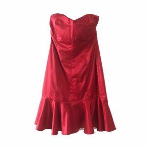 [Marciano] Corset Strapless Dress